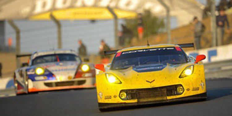 El Corvette de Antonio García se pierde las 24 Horas de Le Mans