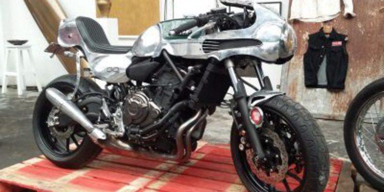 Yamaha presenta la primera MT-07 'Faster Sons'