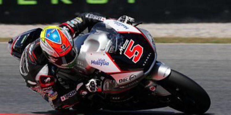 Pole de Moto2 en Montmeló para Johann Zarco