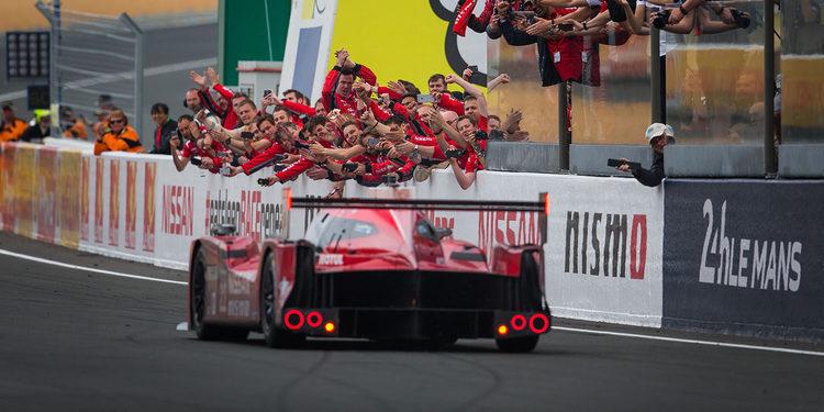 Nissan cumple su misión y completa las 24 Horas de Le Mans