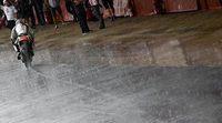 La lluvia protagoniza los test de MotoGP en Cataluña