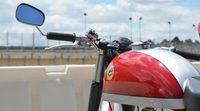 Reunión de motos clásicas en el circuito del Jarama
