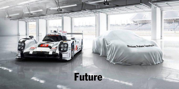 Porsche anuncia en teaser nuevo modelo deportivo