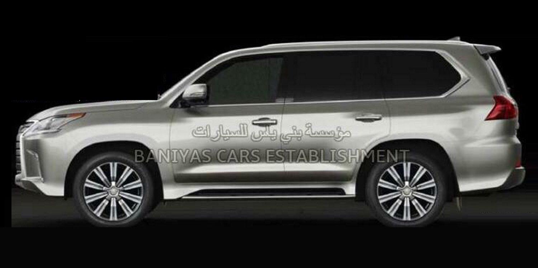 Filtradas imágenes del posible nuevo Lexus LX