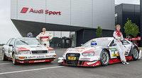 Audi presenta una decoración histórica al estilo 1990 para Norisring