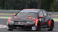 Huff el más rápido en la sesión de testing en Eslovaquia