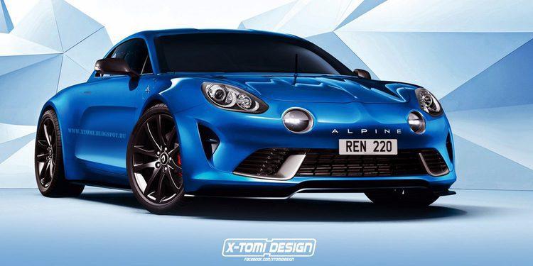 Filtradas las patentes del Renault Alpine definitivo de producción