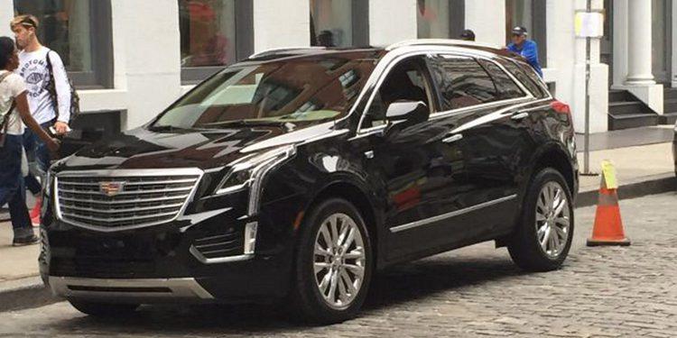 El Cadillac XT5, sustituto del SRX, cazado al completo