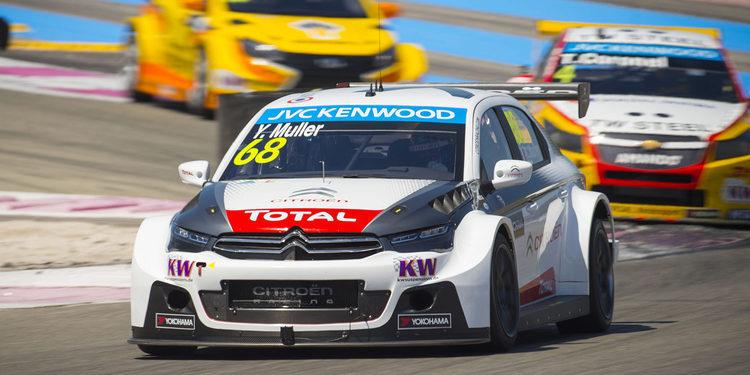 Yvan Muller lidera el doblete de Citroën en el FP1 del WTCC