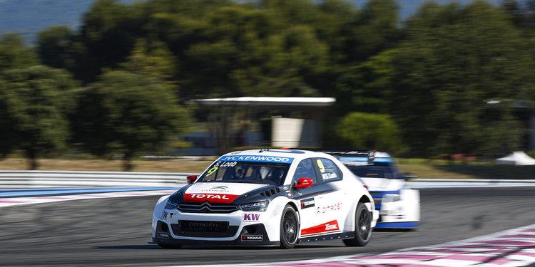 Loeb se queda con la pole en Francia y Citroën domina