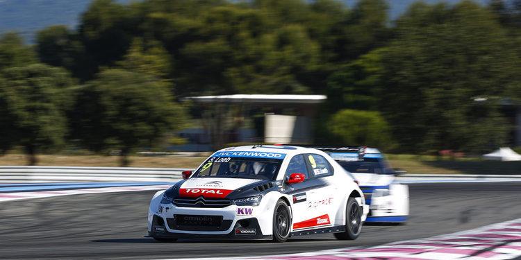 Sébastien Loeb gana con autoridad la primera carrera en Paul Ricard