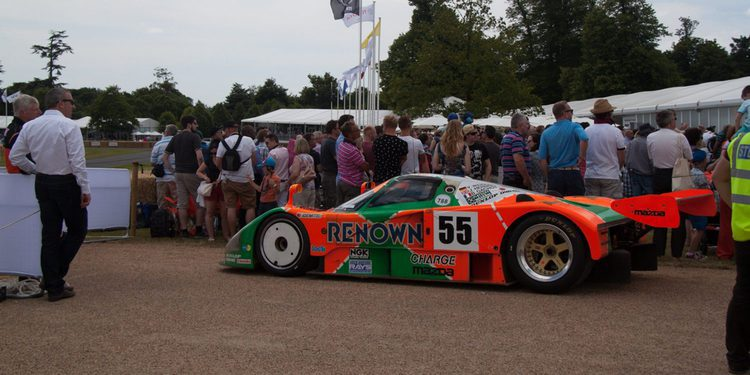 Goodwood Festival of Speed 2015: los stands