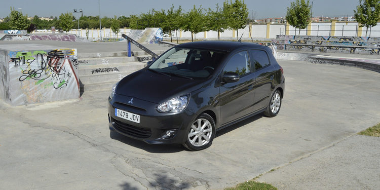 Prueba - Mitsubishi Space Star 120MPI Motion (I)