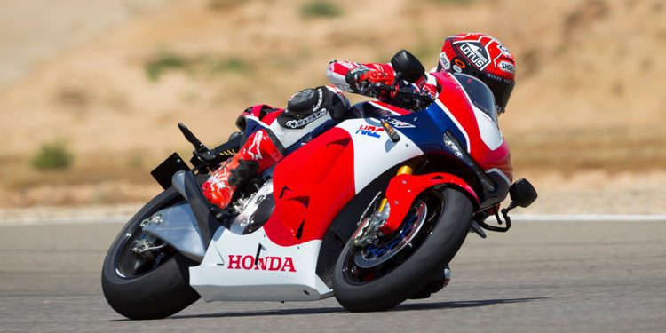Las extrañas especificaciones de la Honda RC 213 V-S