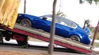 Fotos espía del rodaje promocional de la nueva berlina deportiva Lexus GS F