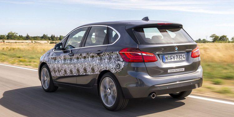 BMW presenta el nuevo Serie 2 plug-in Hybrid disfrazado de prototipo