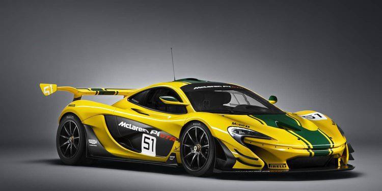 McLaren comienza la producción del P1 GTR