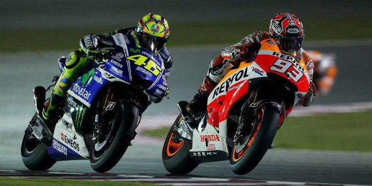 """Rossi: """"tenemos que tener mucho cuidado con Márquez"""""""