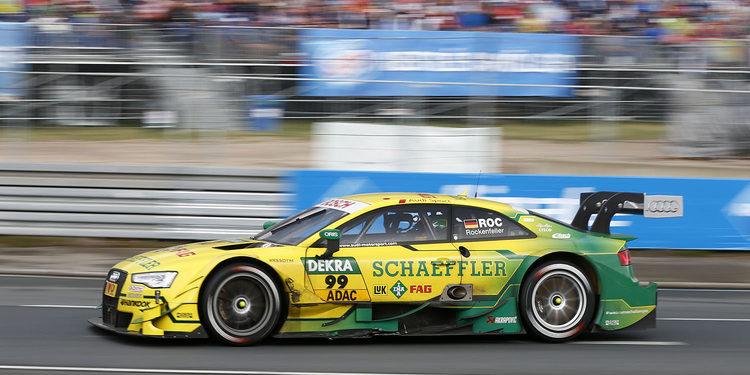 Rockenfeller lidera el FP1 en Zandvoort pero BMW domina