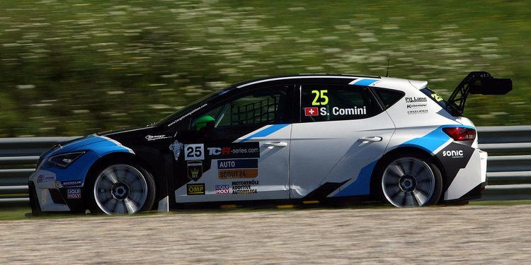 Stefano Comini es el más rápido en la primera sesión libre