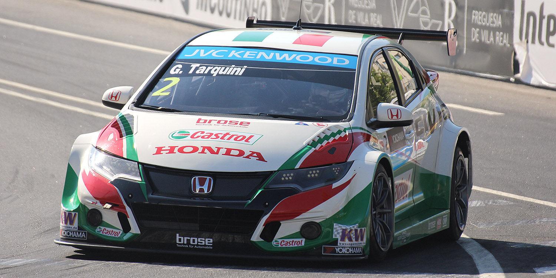 Gabriele Tarquini recibe una reprimenda