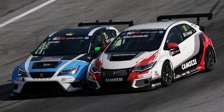 Gianni Morbidelli pierde la victoria en la primera carrera de las TCR