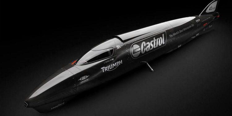 Triumph tratará de batir el récord de velocidad en Bonneville