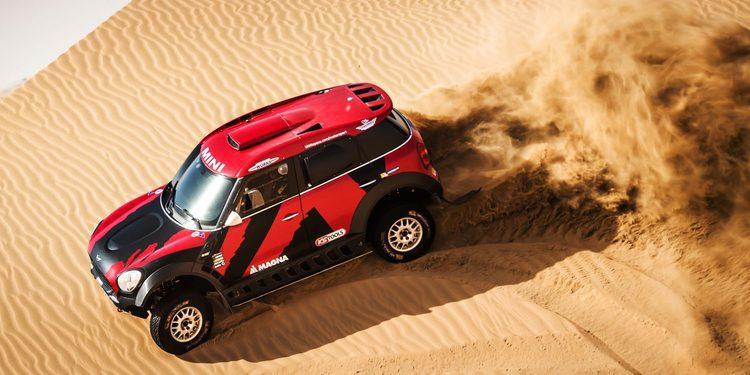 Mikko Hirvonen al Dakar 2016 con X-Raid