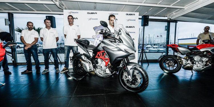 Presentación de la nueva MV Agusta Turismo Veloce 800