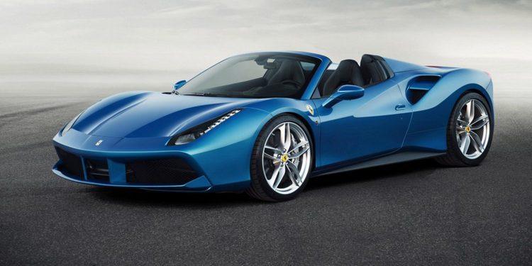 Ferrari desvela las primeras imágenes del 488 Spider