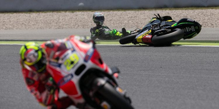 Nueve Grandes Premios de MotoGP y 471 caídas