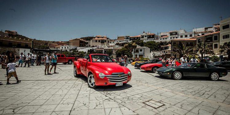 Concentración American Cars Canarias en Tenerife 2015