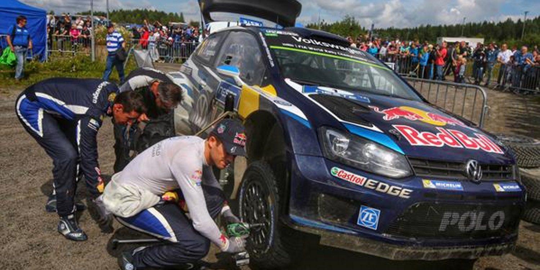Ogier bate el récord en el TC4 durante el Rally de Finlandia