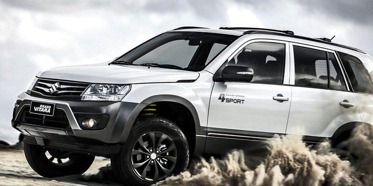 Nuevo Suzuki Grand Vitara 4Sport: Solo para Brasil