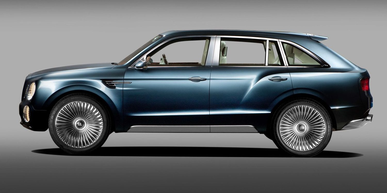 El Bentley Bentayga muestra sus primeras imágenes