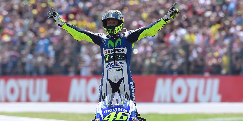 Valentino Rossi sigue acumulando récords
