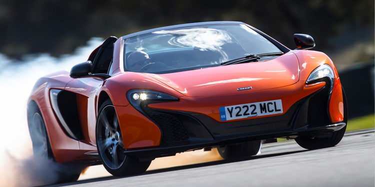 El relevo del McLaren 650S muestra sus primeros detalles