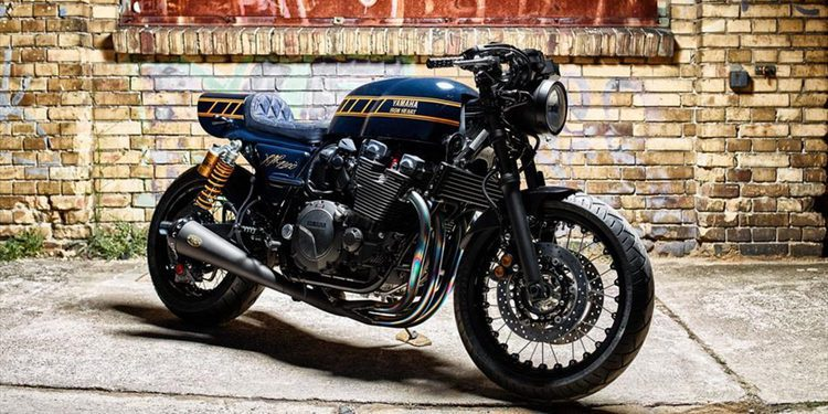 Nueva Yamaha Yard Built XJR1300 by Iron Heart