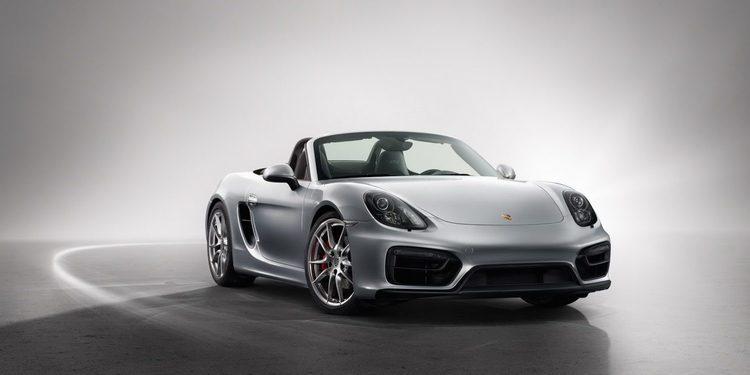Porsche Boxster 4 cilindros cazado rodando en el 'Ring
