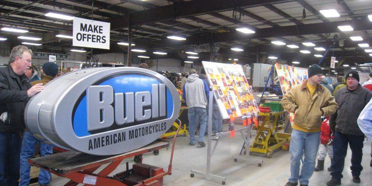 Todos los activos de Erick Buell Racing ya han sido vendidos