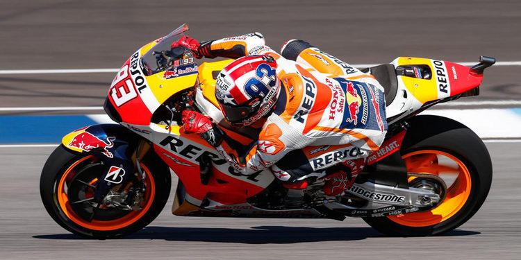 Marc Márquez pole de MotoGP en Indianápolis