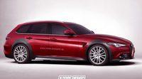 Imaginando nuevas variantes del Alfa Romeo Giulia