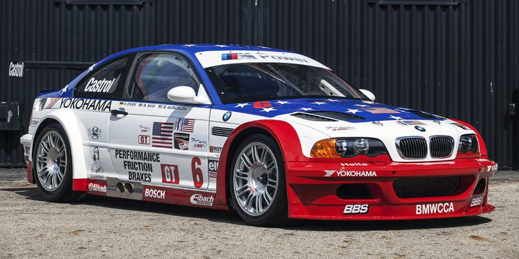 BMW expone en Monterrey el brutal M3 GTR de ocho cilindros