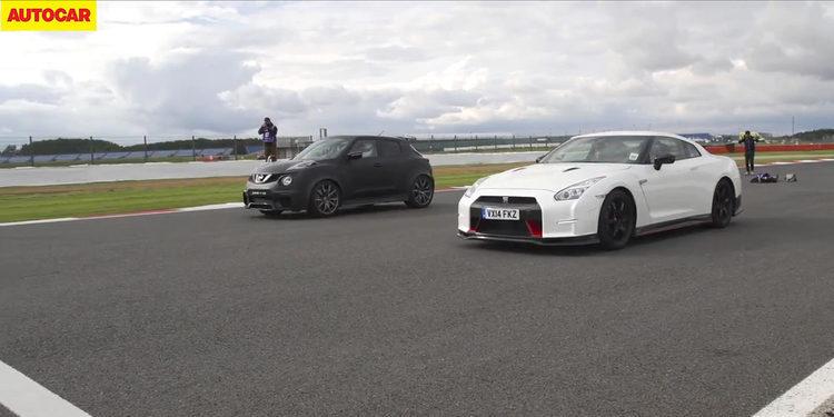 Nissan Juke R Vs. Nissan GTR Nismo: duelo de gigantes