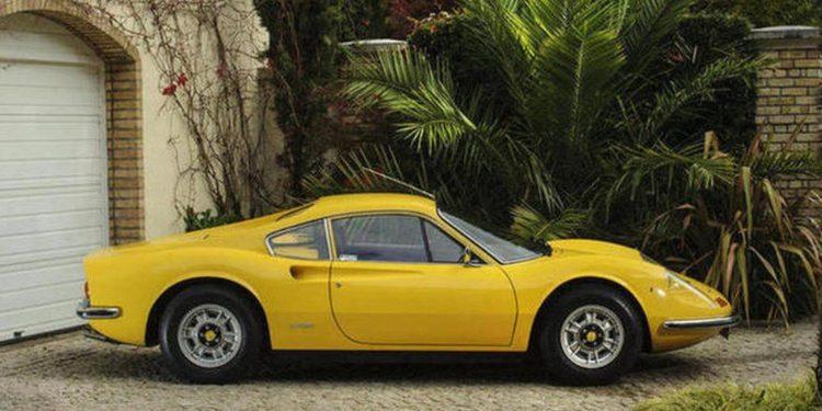Ferrari Dino: Primeras imágenes del prototipo