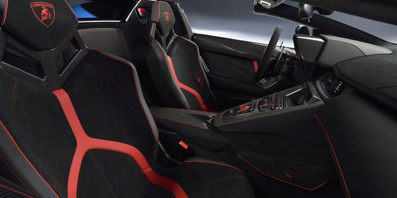 Imágenes del Lamborghini Aventador SV Roadster