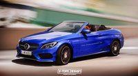 Nuevo Mercedes-Benz Clase C coupe cabrio en render