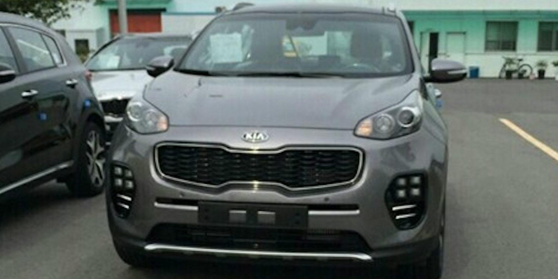 ¡Filtrado! El nuevo Kia Sportage desvela su aspecto