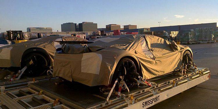 Nuevas fotos espía del Bugatti Chiron en Los Ángeles