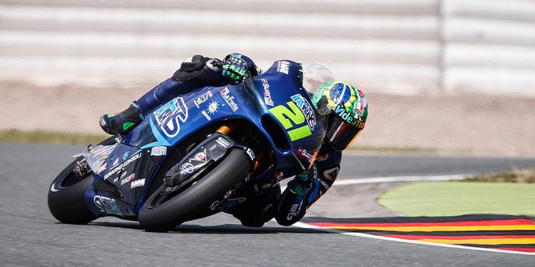Franco Morbidelli se lesiona practicando motocross